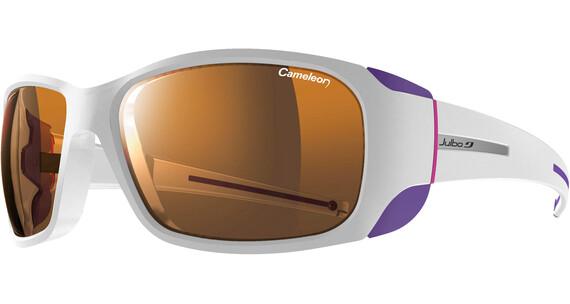 Julbo Monterosa Cameleon Glasses Shiny White/Violet/Fucshia